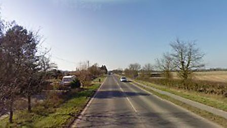 Emergency services are on scene after a crash on the A149 at Wayford, near Stalham. Picture: Google