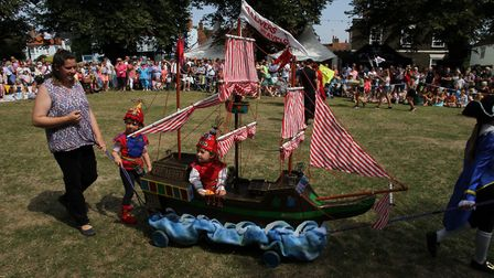Wells Next The Sea Carnival 2018. Photo: cycoze.com