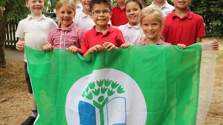Youngsters at Cawston Primary are learning how to be eco-friendly. Picture: Andrew Whitehead