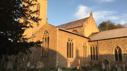 Cawston Parish Church. Picture: SUPPLIED BY RED ANDREW WHITEHEAD