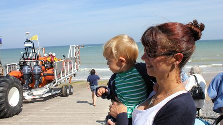 Sheringham Lifeboat Day, which runs at the lifeboat station on Sunday.Photo: KAREN BETHELL