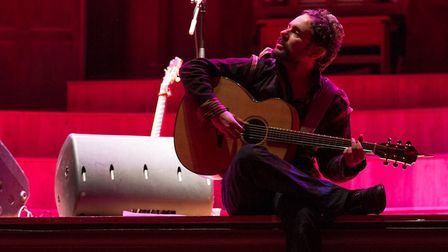 Singer-songwriter Tom Baxter who will be appearing with his band at Holt FestivalPhoto: TOM BAXTER