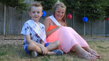 Sheringham Carnival prince and princess Chester Coleman and Molllyanne JohnsonPhoto: KAREN BETHELL
