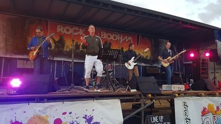 The Stereotypes on stage at Rock Bodham 2018. Picture: Jono Read/Archant