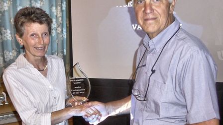 Val Dawson, winner of the Novice Photographer of the Year. Photo: North Norfolk Photographic Society