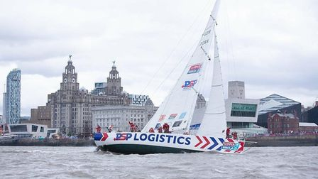 Arriving back in Liverpool. Pictures: supplied by Marie Greer