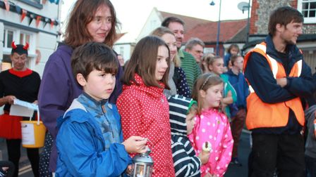 Sheringham Carnival torchlight procession, which has been cancelled due to wildfire fears.Photo: KAR