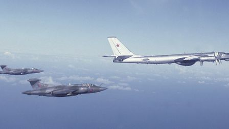 Photo credits: Malcolm English.025: Cold War Intercept - Buccaneers and Soviet Naval Air Force Bea