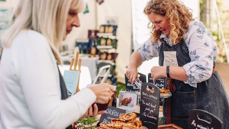 Brays Pork at the North Norfolk Food & Drink festival. Picture: North Norfolk Food & Drink festival