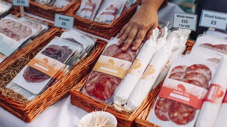 marsh Pic at the North Norfolk Food & Drink festival. Picture: North Norfolk Food & Drink festival