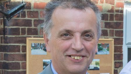 John Frosdick has resigned from the town council over Royal British Legion rumpus. Picture: Genesis