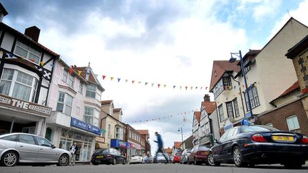 Sheringham High Street where the Maker's Space could soon be located. PHOTO: ANTONY KELLY