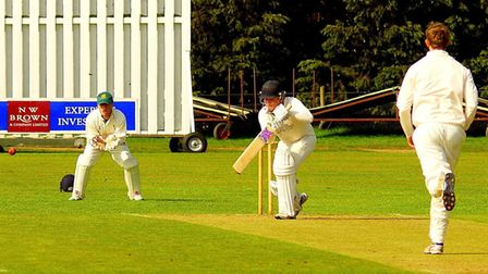 Will Rogers scored a superb unbeaten century to help Horsford to an important win against Norwich Pi