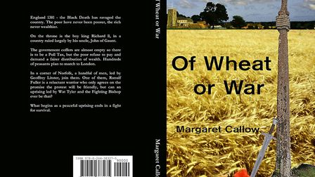 Margaret Callow's book Of Wheat or War. Pictures: Margaret Callow