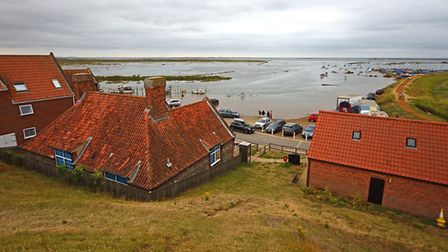 Blakeney at high tide. Picture: NEIL FOSTER/WATERFRONT YACHTING