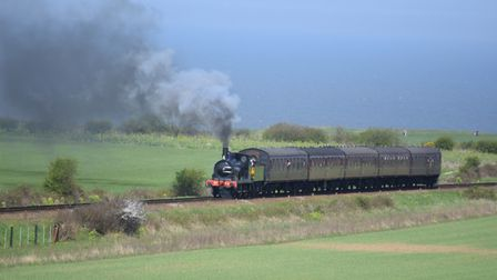 Trains are running again on the North Norfolk Railway after being suspended due to the heat. Photo: