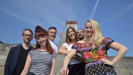 The cast of Sheringham Little Theatre's summer season. Picture: SLT