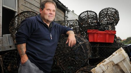 Wells fisherman and business owner Andy Frary. PHOTO; Matthew Usher
