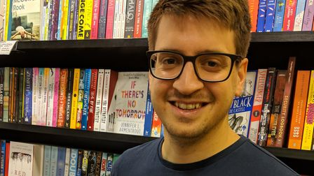 James Wright, 29, has published Hopebearer, the first novel in his fantasy trilogy, The High Realm C