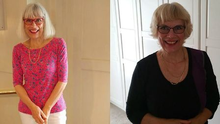 Susie Coney, from Southrepps, lost four stone with the Mundesley Slimming World. Photo: Susie Coney