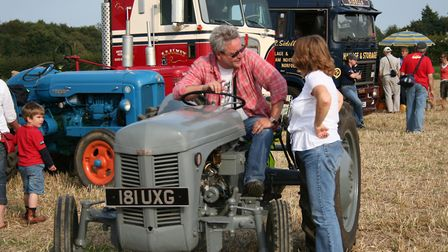 Vintage tractors and lorries will be on show at Ingworth Trosh and Country Fair on Sunday.Photo: KAR
