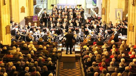 London Mozart Players with Sheringham & Cromer Choral Society. Picture submitted.