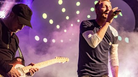 Coldspace, the Coldplay tribute band, are coming to Cromer. Picture: Bounce PR