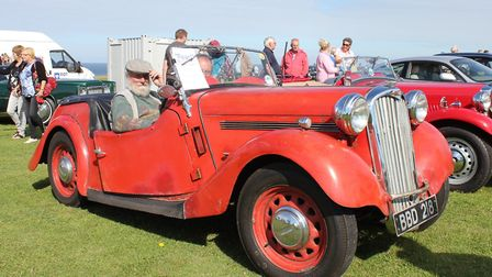 Vintage vehicles will be on show at West Runton Scouts' annual summer fair on Sunday.Photo: KAREN BE