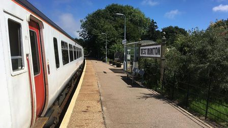West Runton station will host a community fundraising event this weekend. Photo: Greater Anglia