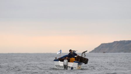 Eighth-generation Cromer crab fisherman John Lee says young people are not sticking at the job. Phot