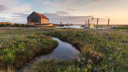 Chris Herring's image of Thornham in Norfolk, titled Thornham Dawn, was a runner up in the Breathing