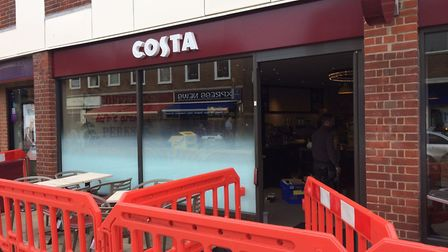 Costa Coffee is opening in Cromer. Picture: David Bale