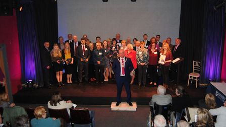 Last year's Big Society awards. Picture: NNDC