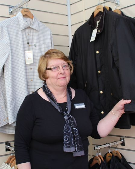 Linda Sewell celebrates 48 years working at Bakers and Larners of Holt on September 1. Photo: Bakers
