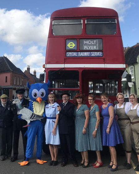 40s weekend in Holt is coming. Photograph: Neil Didsbury