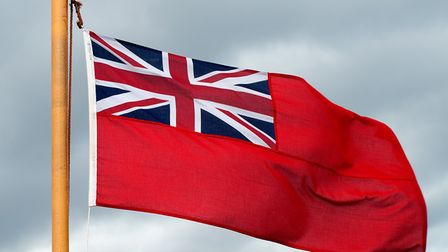 NNDC supports Merchant Navy Day by hoistng a Red Ensign. Pictures: NNDC