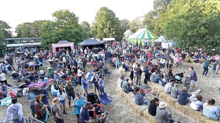 Part of the fun at this year's Trunchonbury Festival. Picture: IVAN MAESTRE