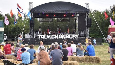 Trunchonbury Festival, which kicks off at the Paddock in the village this weekend. Picture : ANTONY