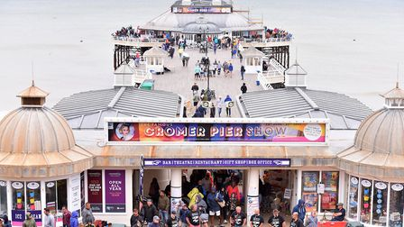 Cromer Pier is to receive £400,000 of improvements. Picture: Nick Butcher