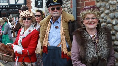 The North Norfolk Railway 1940s weekend, which runs on September 15 and 16.Photo: KAREN BETHELL