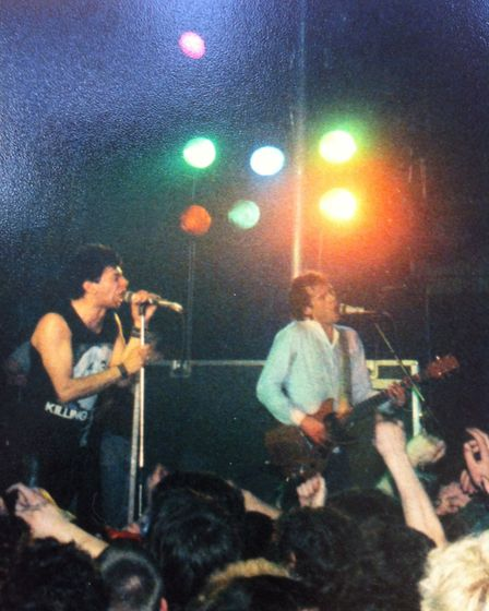 The Stranglers performing at West Runton Pavilion. Picture: ARCHANT LIBRARY