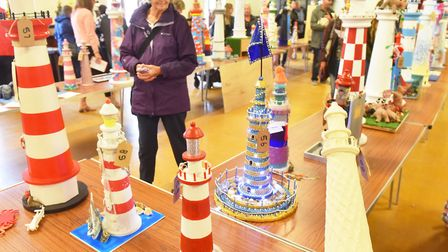 Cromer Lighthouse auction.Picture: Nick Butcher