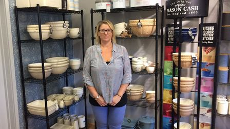 Joanne Cannon inside the shop. Pictures: David Bale