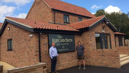 Graham Byrne, left, and Glenn Tuck at the new Ratcatchers. Picture: David Bale