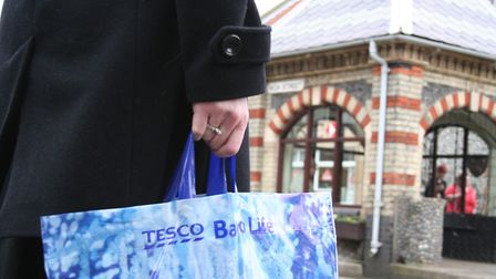 Sheringham's Tesco store celebrates its fifth anniversary this month.Photo: KAREN BETHELL