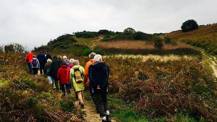 Walkers are Welcome national get-together in Cromer. Picture: supplied by Barry Meadows