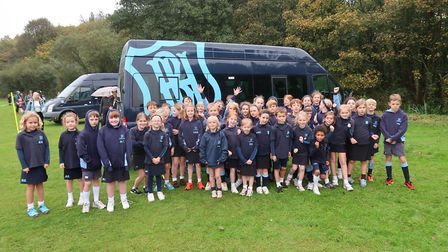 Beeston Hall School has hosted the annual Cromer and Sheringham Schools Sports' Partnership Cross Co