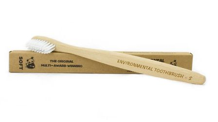 Toothbrushes made from bamboo are also on sale at Becky Wreford's site www.nellybell.co.uk. Picture: