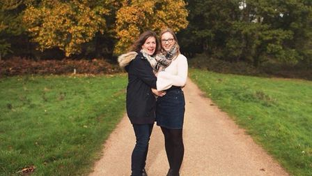 Holly and her mum Nicki. Photo: the Rumsby family