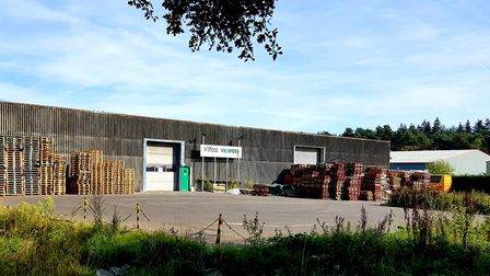 The Vitfoss site on the industrial estate in Holt. Picture: Jonathon Read